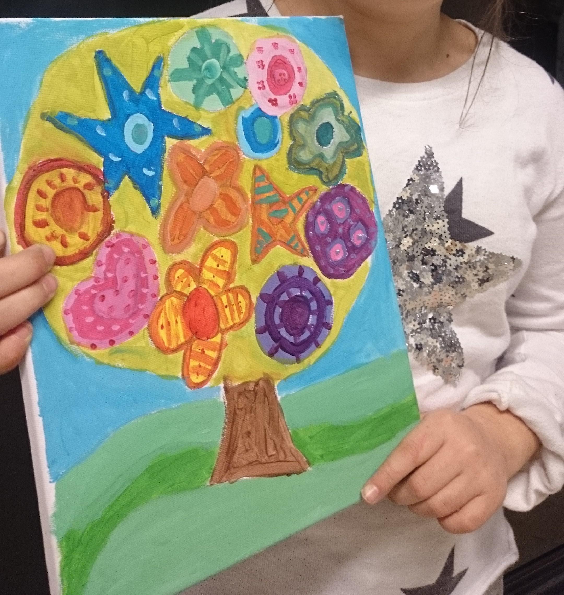 Minicurso de Pintura Acrílica para Niños/ Taller Mukina y la Familia ...