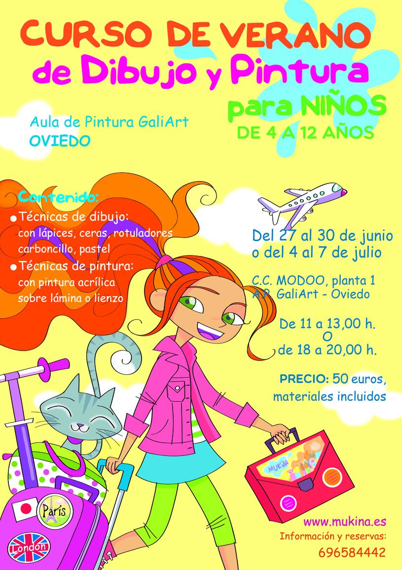 Cursos de verano de dibujo y pintura Mukina y la Familia Pinturera ...